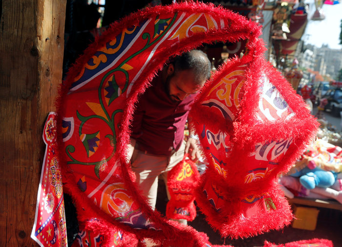 Στην αγορά για τα παραδοσιακά για το Ραμαζάνι