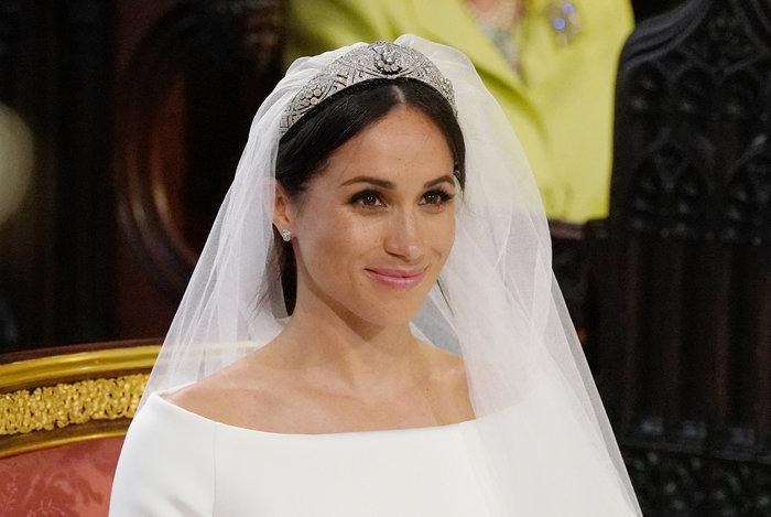 Πανέμορφη νύφη η 36χρονη Μέγκαν Μαρκλ - Η συγκίνηση και τα δάκρυα του Χάρι - εικόνα 19