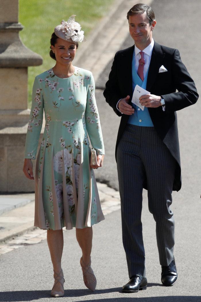 Η Πίπα Μίντλετον με τον σύζυγό της