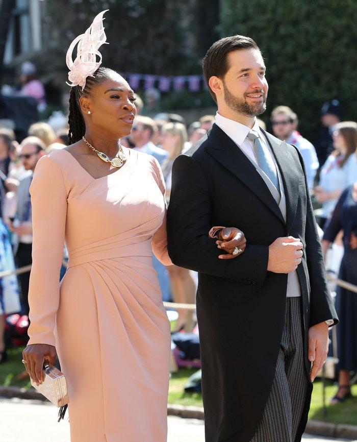 Η Σερένα Γουίλιαμς και ο σύζυγός της Αλέξις Οχάνιαν