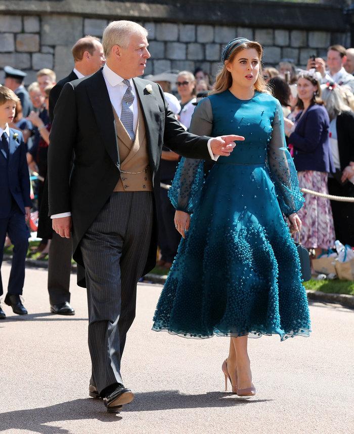 Ο Δούκας του Γιορκ με την κόρη του