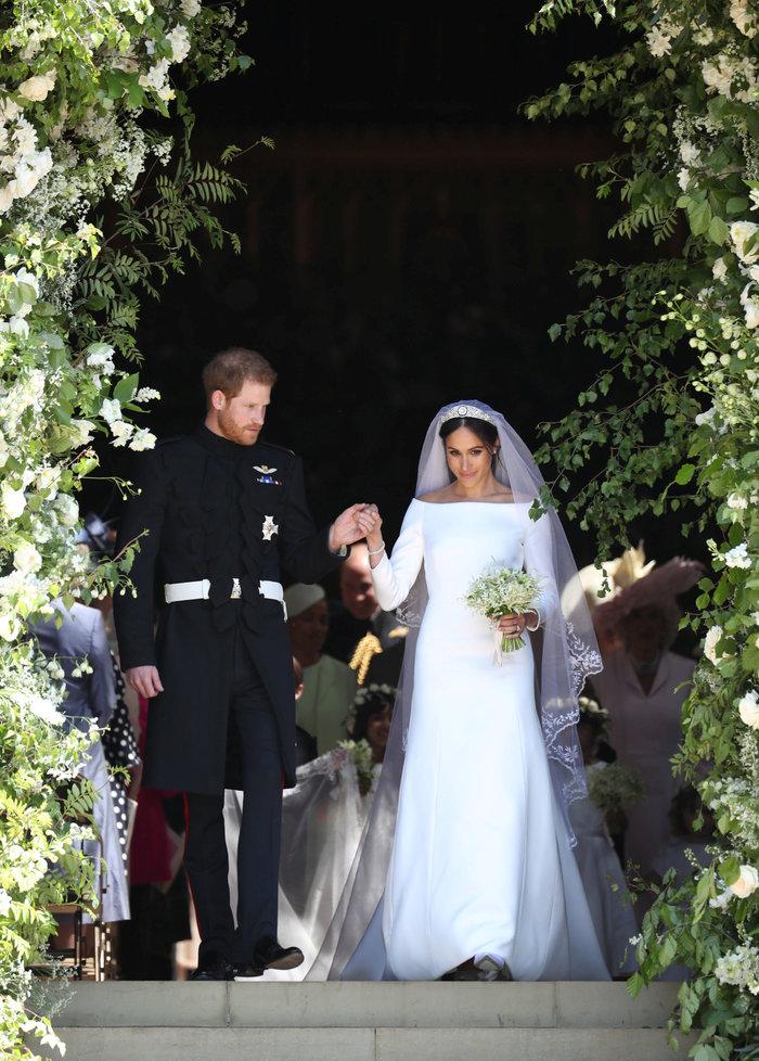 Ο παραμυθένιος γάμος του πρίγκιπα Χάρι και της Μέγκαν Μαρκλ