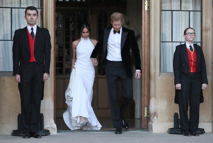 Σταρ του Χόλιγουντ Χάρι και Μέγκαν στη δεύτερη γαμήλια εμφάνισή τους - εικόνα 2