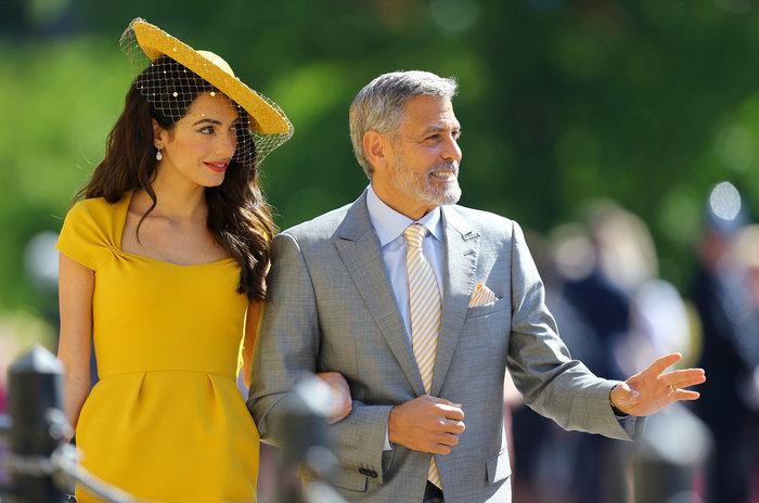Αστυνομικό μπλόκο σε Αμάλ και Τζορτζ Κλούνεϊ στον βασιλικό γάμο - Τι συνέβη - εικόνα 3