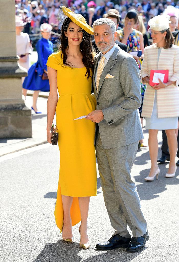 Αστυνομικό μπλόκο σε Αμάλ και Τζορτζ Κλούνεϊ στον βασιλικό γάμο - Τι συνέβη - εικόνα 4