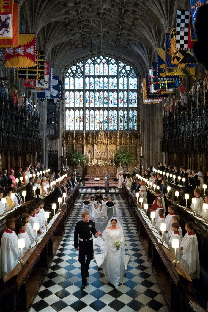 Αστυνομικό μπλόκο σε Αμάλ και Τζορτζ Κλούνεϊ στον βασιλικό γάμο - Τι συνέβη - εικόνα 5