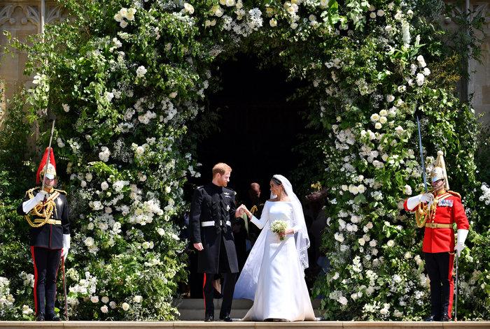 Αστυνομικό μπλόκο σε Αμάλ και Τζορτζ Κλούνεϊ στον βασιλικό γάμο - Τι συνέβη - εικόνα 8