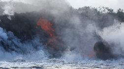 Σκηνές αποκάλυψης στη Χαβάη από το ηφαίστειο Κιλαουέα  [Εικόνες-Βίντεο]
