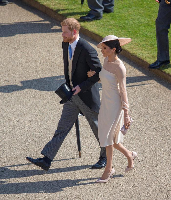 Η πρώτη επίσημη δημόσια εμφάνιση του πρίγκιπα Χάρι και της Μέγκαν Μαρκλ