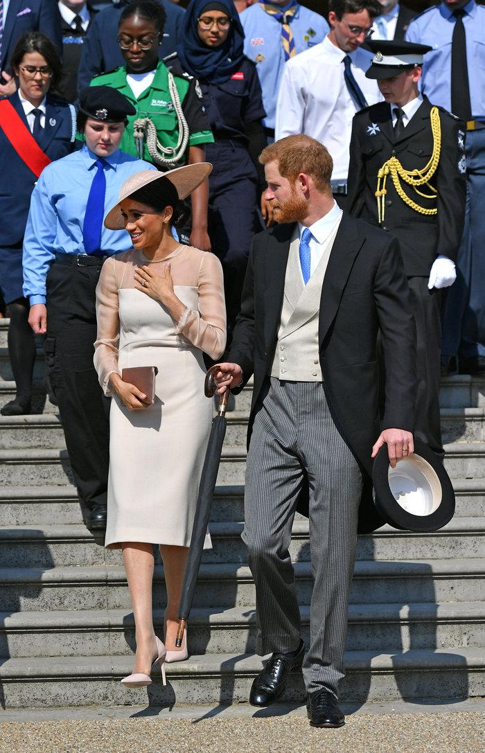 Η πρώτη επίσημη δημόσια εμφάνιση του πρίγκιπα Χάρι και της Μέγκαν Μαρκλ - εικόνα 3