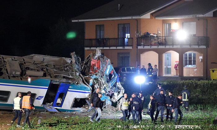 Εκτροχιασμός τρένου στο Τορίνο-Δύο νεκροί