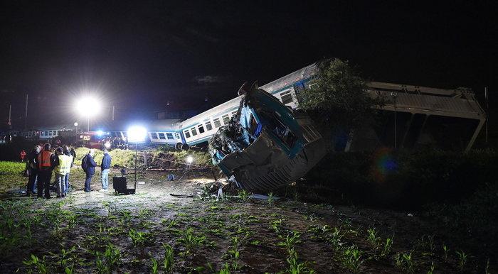 Εκτροχιασμός τρένου στο Τορίνο-Δύο νεκροί - εικόνα 3