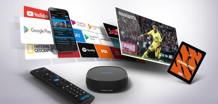 Ανακαλύψτε ξανά την τηλεόραση με την WIND VISION