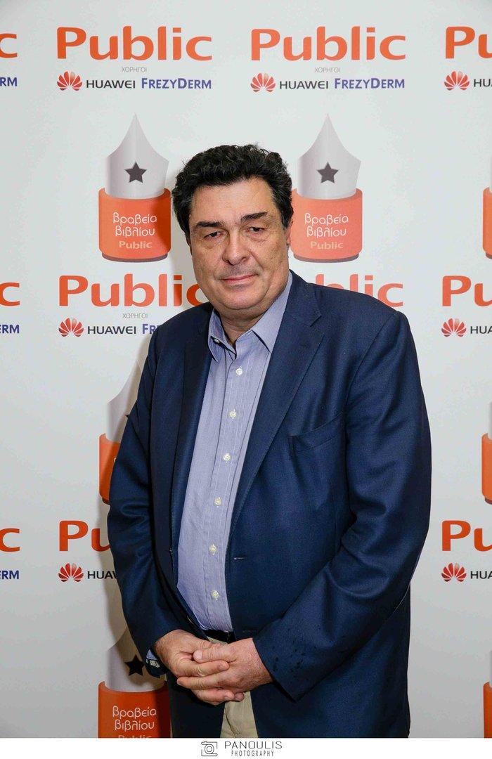 Ο δημοσιογράφος, Αλέξης Παπαχελάς, νικητής στην κατηγορία non fiction