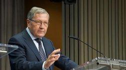 Ρέγκλινγκ: Χρειάζεται ακόμη δουλειά για να γίνει ανθεκτική η οικονομία