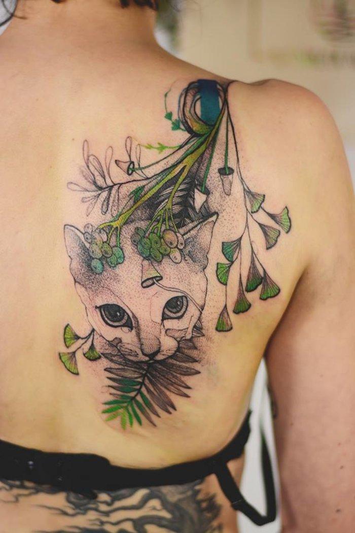 Dzo: Η δημιουργός τατουάζ που εμπνέεται από τη φύση