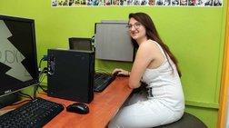 Η 16χρονη Ζωή στο παγκόσμιο πρωτάθλημα της Microsoft (φωτό)