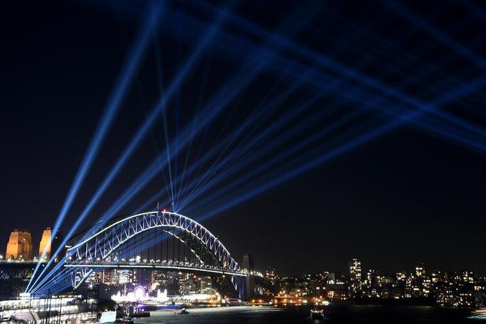 Vivid Sydney: Λαμπερό «πάρτι» φωτός στη φημισμένη όπερα της Αυστραλίας