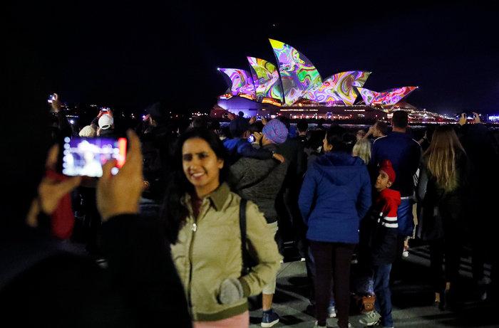 Vivid Sydney: Λαμπερό «πάρτι» φωτός στη φημισμένη όπερα της Αυστραλίας - εικόνα 2
