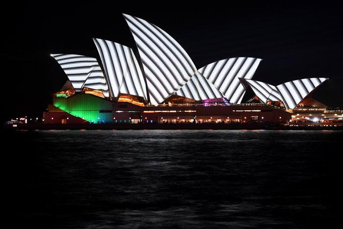 Vivid Sydney: Λαμπερό «πάρτι» φωτός στη φημισμένη όπερα της Αυστραλίας - εικόνα 3