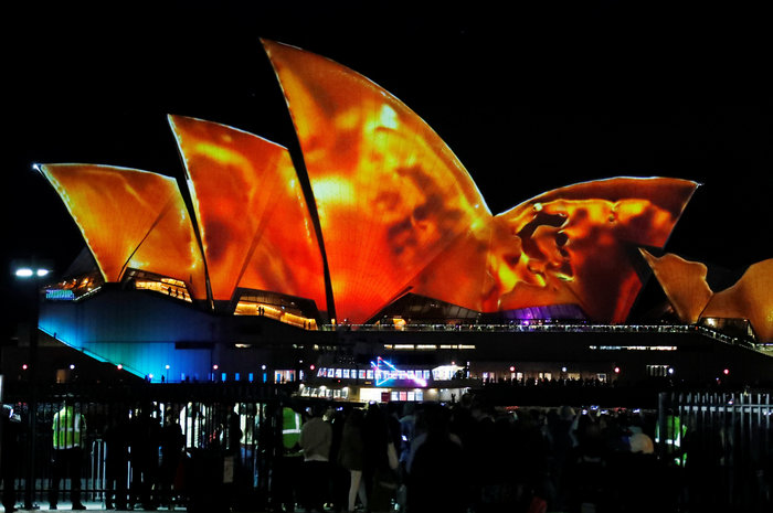 Vivid Sydney: Λαμπερό «πάρτι» φωτός στη φημισμένη όπερα της Αυστραλίας - εικόνα 4