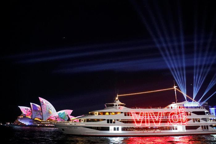 Vivid Sydney: Λαμπερό «πάρτι» φωτός στη φημισμένη όπερα της Αυστραλίας - εικόνα 10