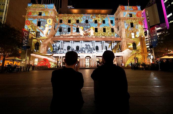 Vivid Sydney: Λαμπερό «πάρτι» φωτός στη φημισμένη όπερα της Αυστραλίας - εικόνα 13