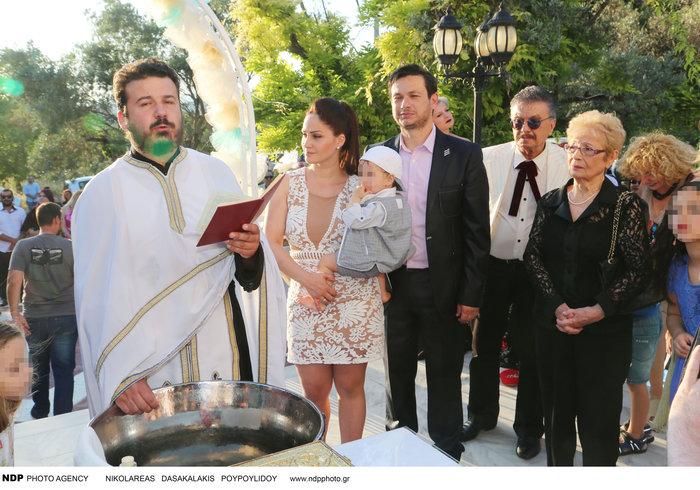 Το άλμπουμ της βάφτισης του γιου του Σταύρου Νικολαΐδη - εικόνα 3