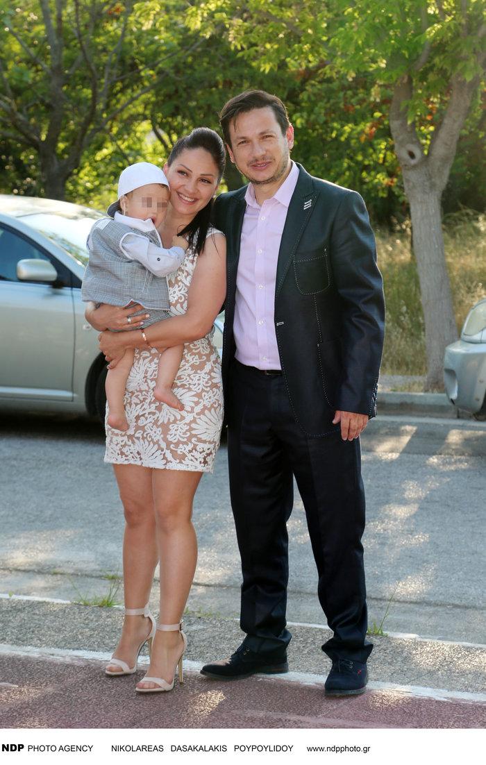 Το άλμπουμ της βάφτισης του γιου του Σταύρου Νικολαΐδη - εικόνα 4
