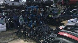Συμμορία είχε κλέψει πάνω από 20 οχήματα - τα έκαναν ανταλλακτικά [φωτό]