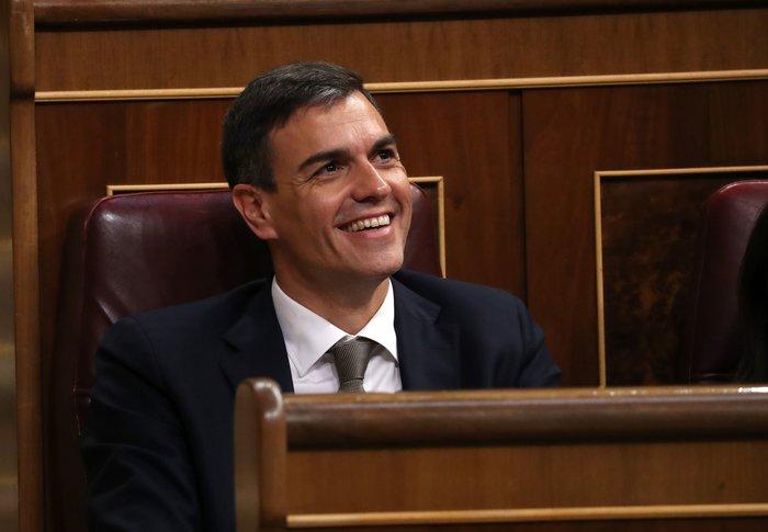 Ο Πέδρο Σάντσεθ ορκίστηκε πρωθυπουργός της Ισπανίας