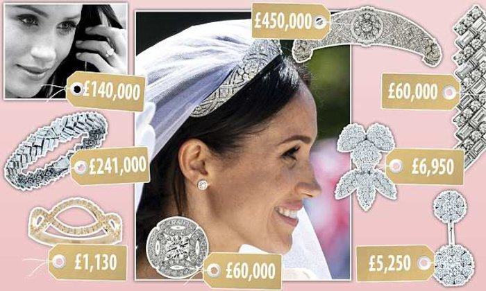 Δούκισσα από διαμάντια: Η ασύλληπτη αξία των κοσμημάτων της Μαρκλ - εικόνα 3