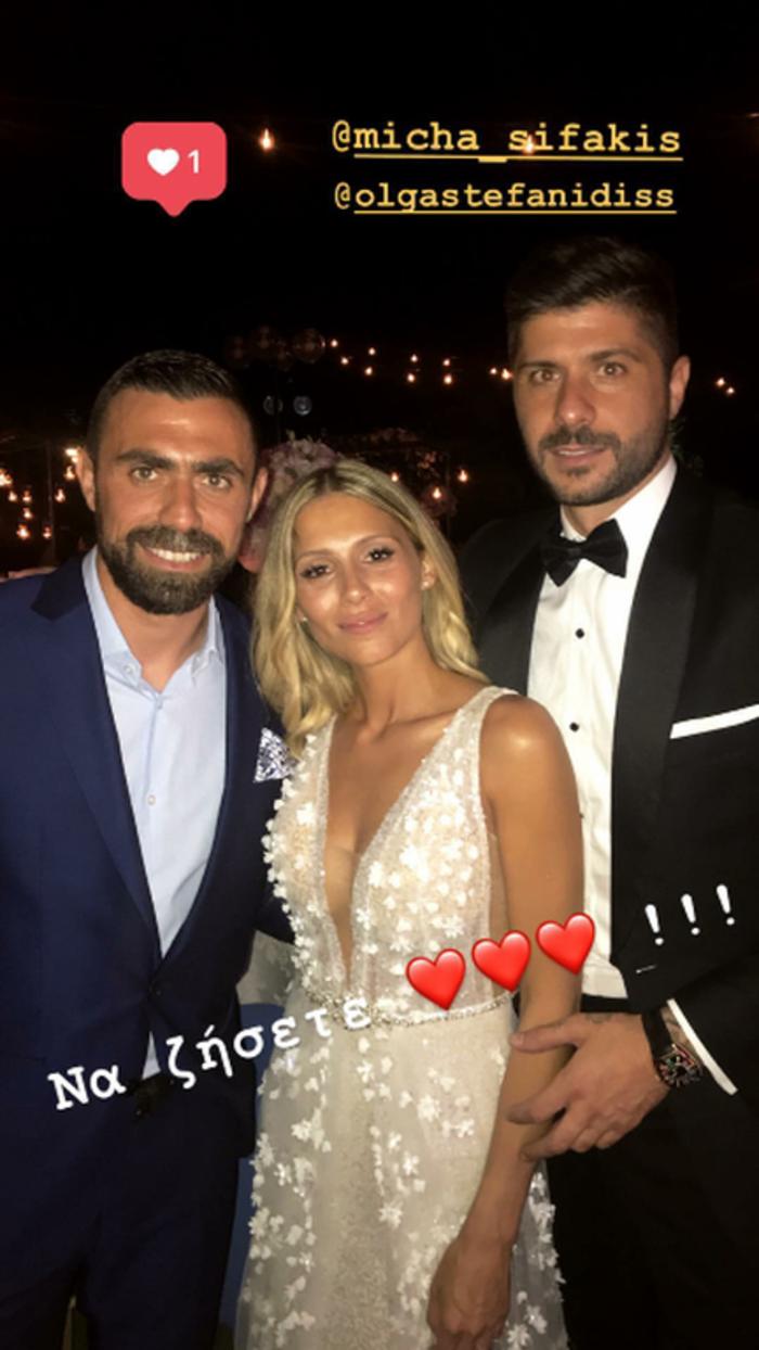 Ο λαμπερός κρητικός γάμος του ποδοσφαιριστή Μιχάλη Σηφάκη [Εικόνες] - εικόνα 2