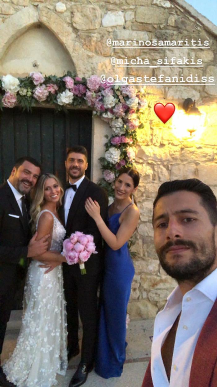 Ο λαμπερός κρητικός γάμος του ποδοσφαιριστή Μιχάλη Σηφάκη [Εικόνες]