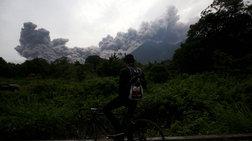 Τραγωδία στη Γουατεμάλα, 25 νεκροί από έκρηξη ηφαιστείου