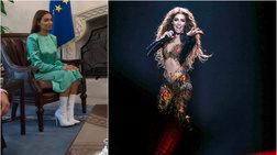 apo-ti-eurovision-sto-proedriko-megaro-i-foureira--i-metamorfwsi-tis-fwto