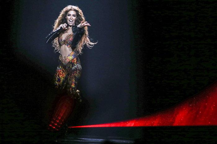 Από τη Eurovision στο Προεδρικό Μέγαρο η Φουρέιρα -Η μεταμόρφωσή της [φωτο]