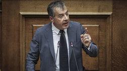 Θεοδωράκης κατά Τόσκα: «Υπουργείο προστασίας... κουκουλοφόρων»