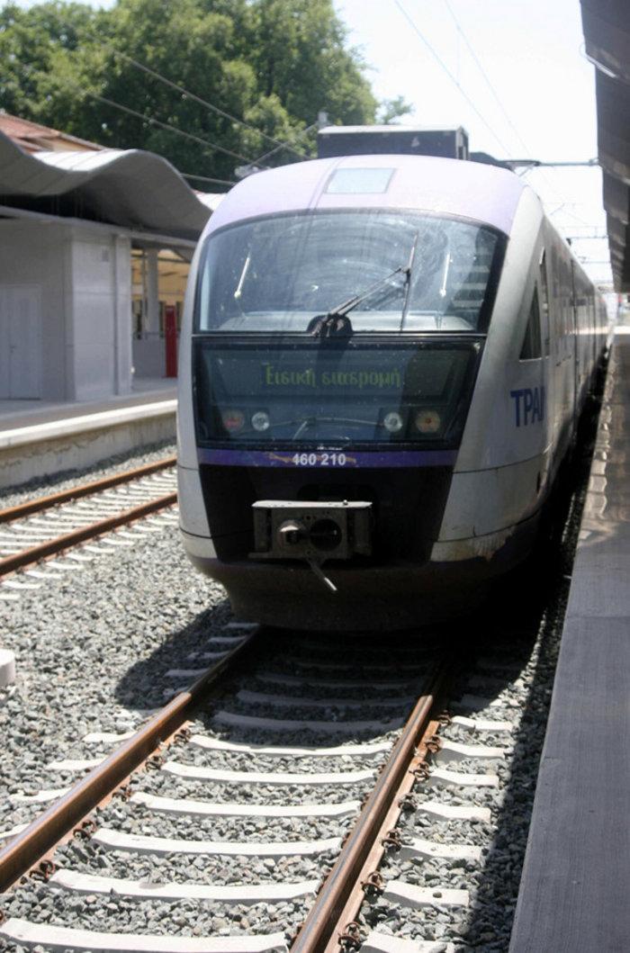 Το πρώτο ηλεκτρικό τρένο έφτασε στο Λιανοκλάδι - εικόνα 2