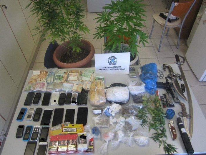 Λάρισα, Τρίκαλα, Καρδίτσα το πεδίο δράσης ναρκω-οργάνωσης - 14 συλλήψεις