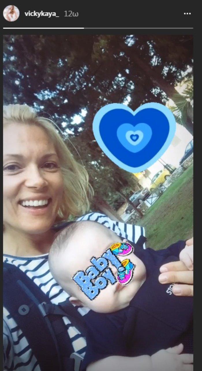 Βίκυ Καγιά: Αγκαλιές και χαμόγελα με τον πανέμορφο γιο της [Εικόνες]