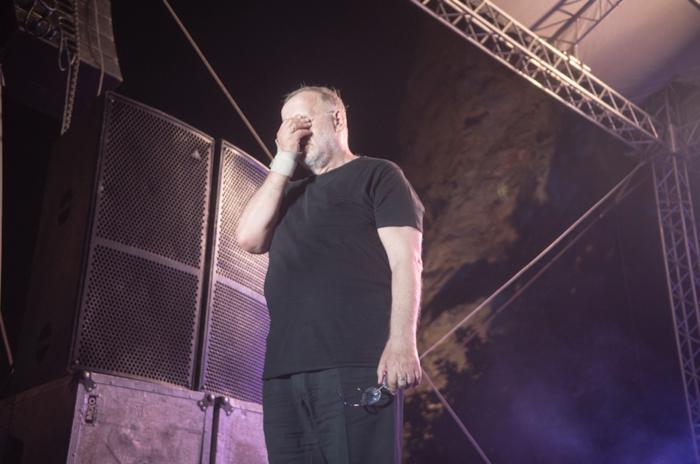 Τραγούδι και συγκίνηση στη μεγάλη συναυλία του Θ. Μικρούτσικου