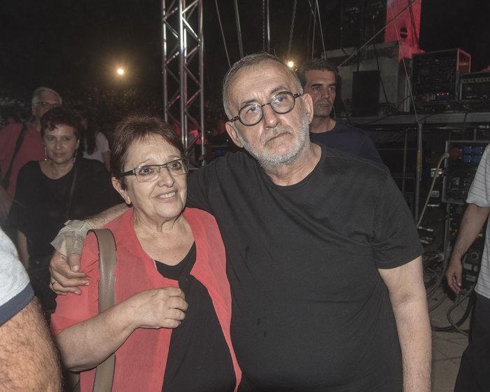 Με την Αλέκα Παπαρήγα