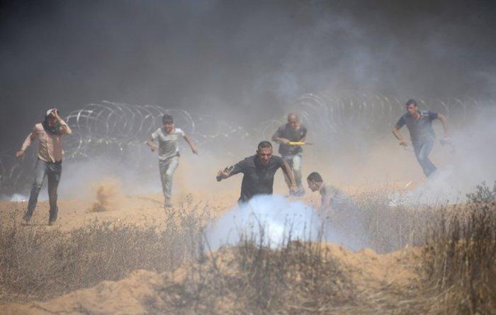 Νέα επεισόδια στη Γάζα: 4 νεκροί και 100 τραυματίες