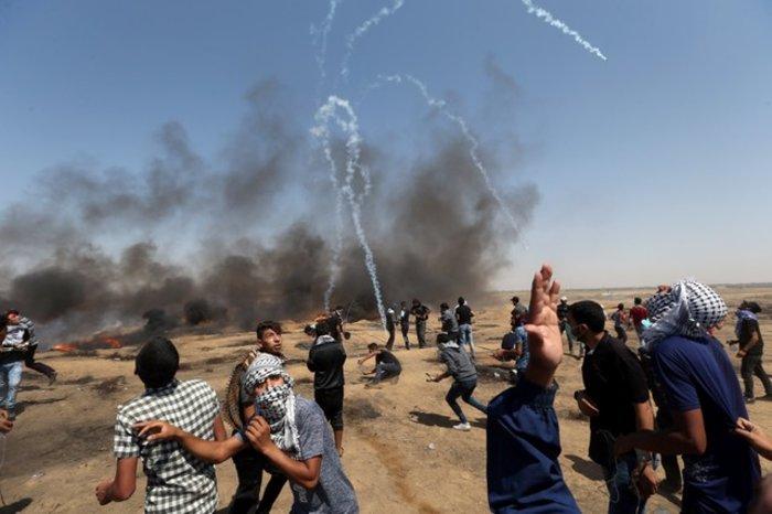 Νέα επεισόδια στη Γάζα: 4 νεκροί και 100 τραυματίες - εικόνα 4