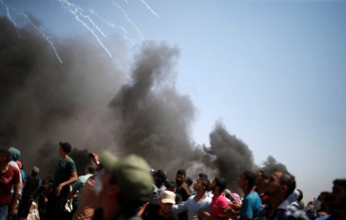 Νέα επεισόδια στη Γάζα: 4 νεκροί και 100 τραυματίες - εικόνα 5
