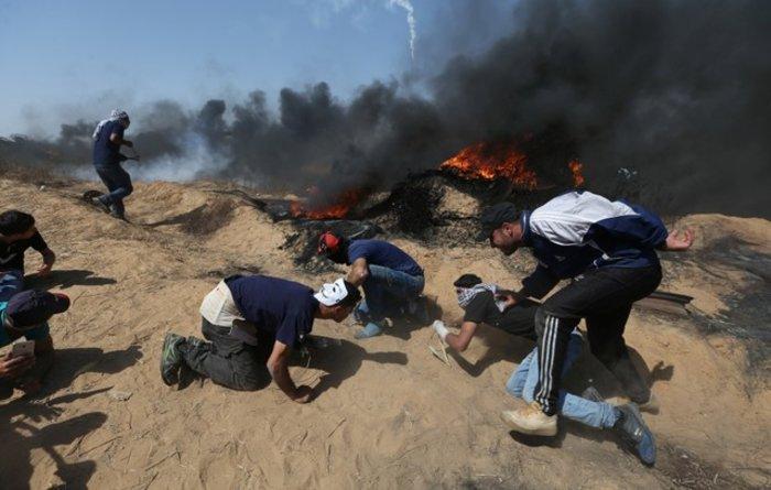 Νέα επεισόδια στη Γάζα: 4 νεκροί και 100 τραυματίες - εικόνα 6