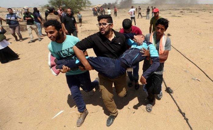 Νέα επεισόδια στη Γάζα: 4 νεκροί και 100 τραυματίες - εικόνα 7