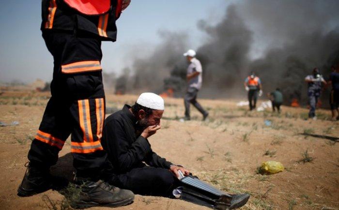 Νέα επεισόδια στη Γάζα: 4 νεκροί και 100 τραυματίες - εικόνα 8