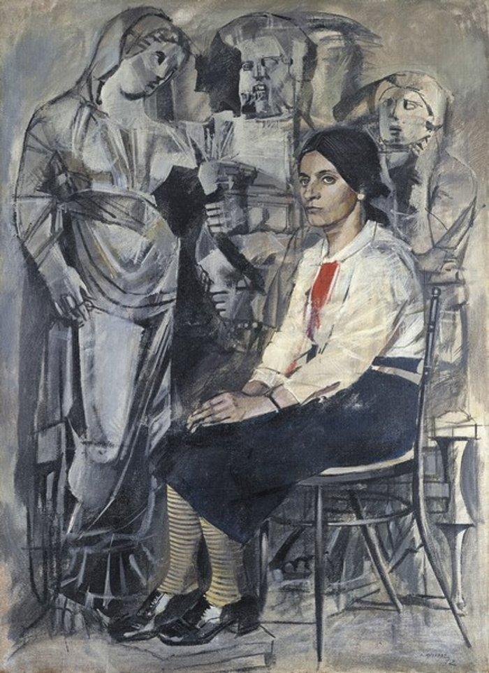 Χαρίκλεια, 1971 Ακρυλικό σε καμβά 150 Χ 108 εκ. Ιδιωτική συλλογή